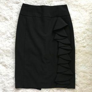 Express Design Studio black pencil skirt size 2